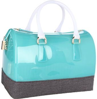 Furla Candy Bag with Denim - Lyst