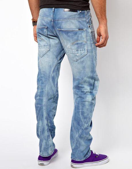g star raw jeans arc 3d loose tapered lt aged destroy in. Black Bedroom Furniture Sets. Home Design Ideas