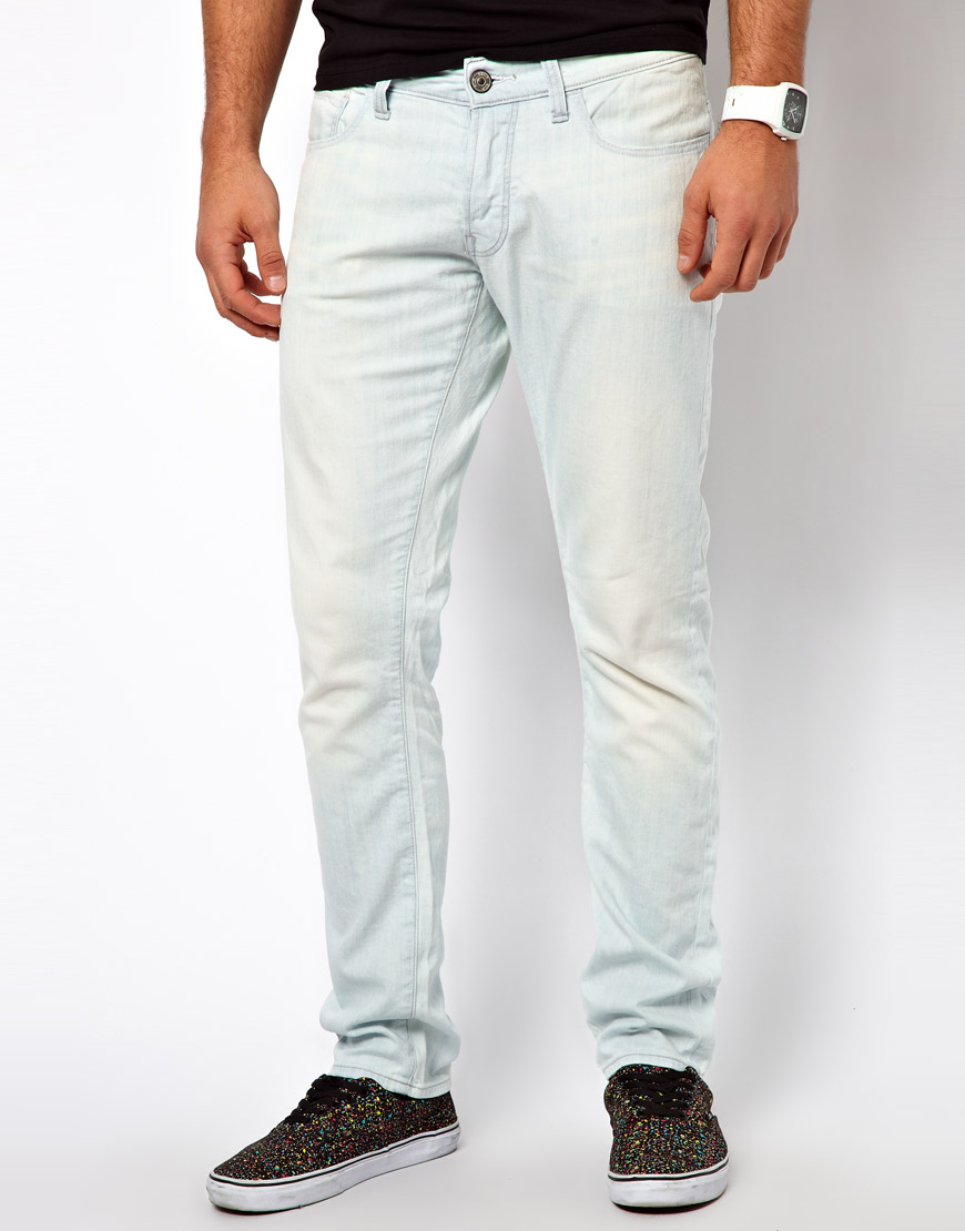 lyst g star raw g star jeans dexter slim light aged in blue for men. Black Bedroom Furniture Sets. Home Design Ideas