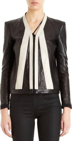 Helmut Lang Evolution Paneled Leather Jacket in Black (Multi) | Lyst