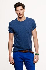 J.Crew Slim Flagstone Pocket Tee - Lyst