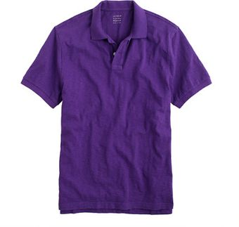 J.Crew Slub Cotton Polo - Lyst