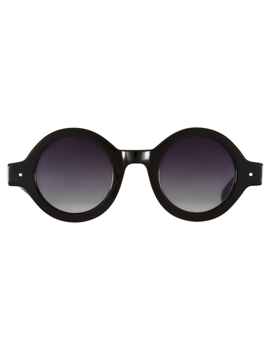 9dd7badd56de Lyst Minimarket Fish Eye Sunglasses In Black