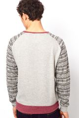Rock Revival Sweatshirt in Gray for Men (greymarl) - Lyst
