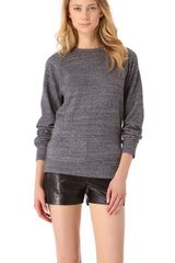 T By Alexander Wang Crew Neck Sweatshirt - Lyst