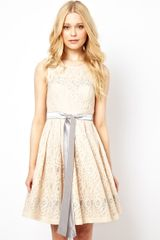 Traffic People Lace Skater Dress - Lyst