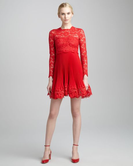 valentino-rosso-longsleeve-lace-plisse-dress-ross-product-
