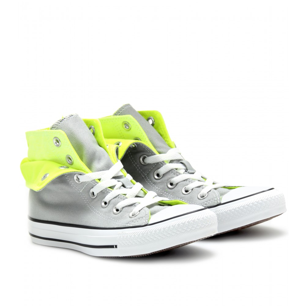 Lyst - Converse Chuck Taylor All Star High Tops in Yellow