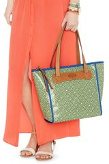 Fossil Keyper Shopper in Green - Lyst
