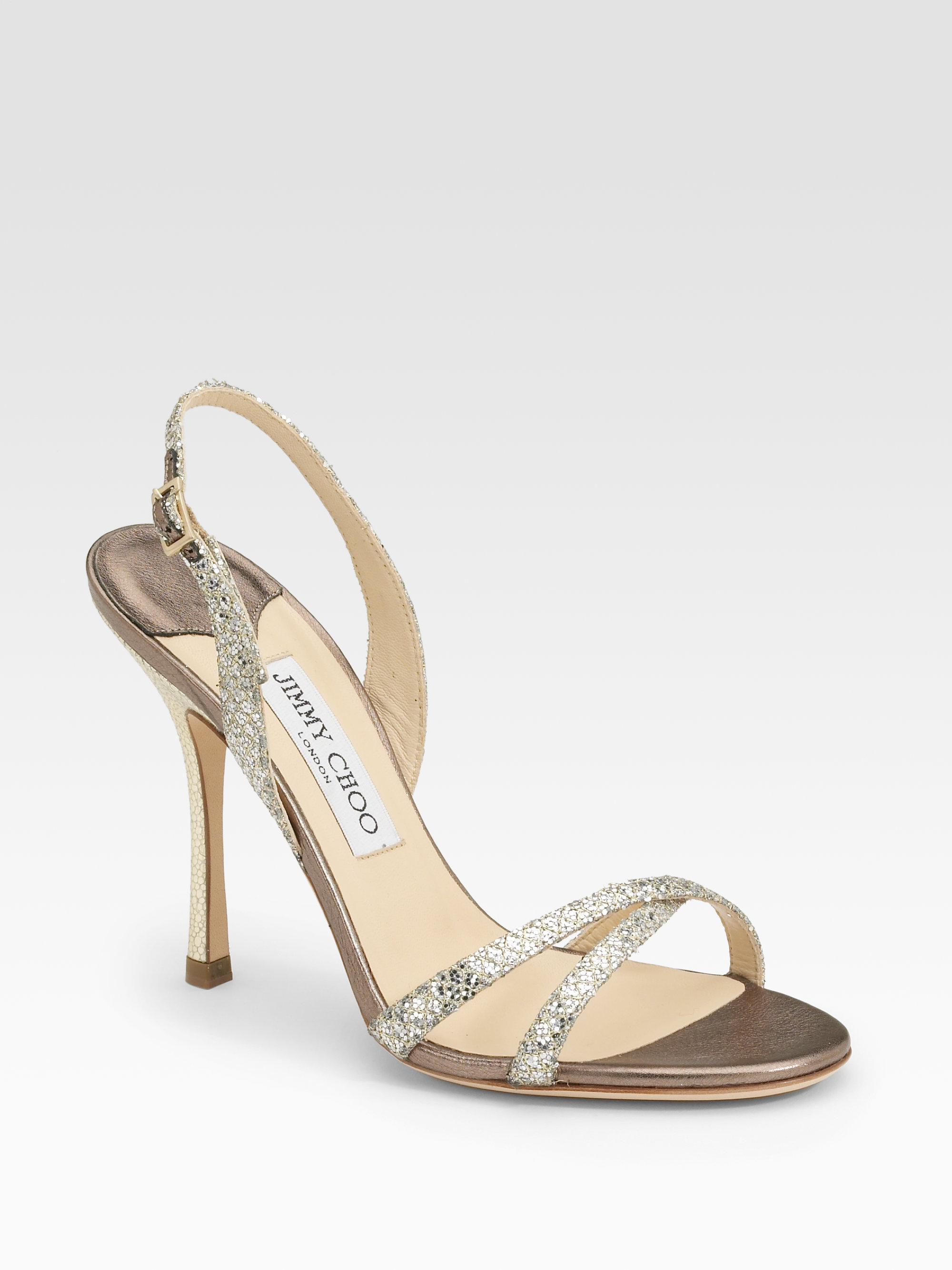 bd785453e8 Gallery. Previously sold at: Saks Fifth Avenue · Women's Jimmy Choo Glitter