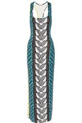 Mara Hoffman Luau Printed Stretch-jersey Maxi Dress - Lyst