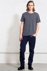 Rag & Bone Rb15x Brushed Midnight Navy Jean - Lyst