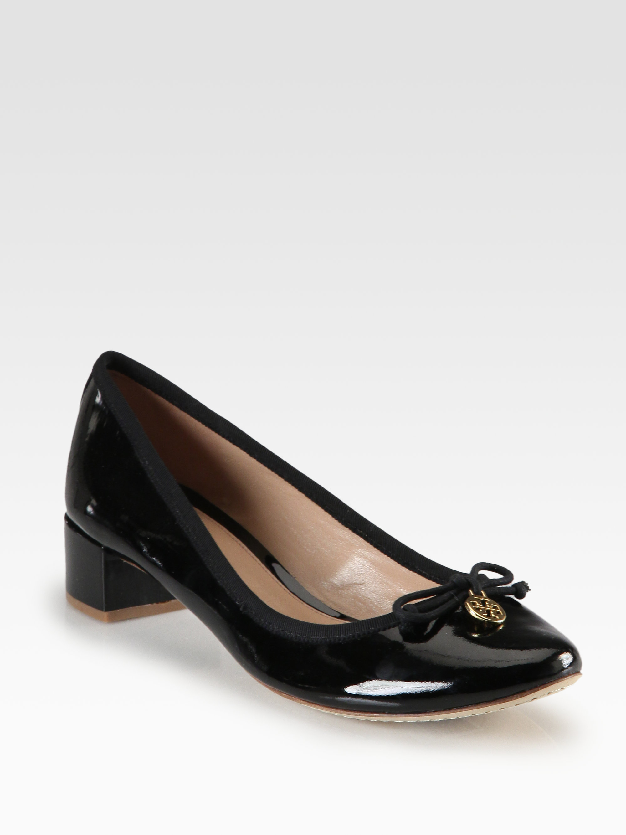 Tory Burch Women's Chelsea Leather Pumps Sale Sale Online Online Sale Online HoOcGADBBl