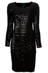 Jean Paul Gaultier Sequinned Bodycon Dress - Lyst