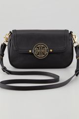 Tory Burch Amanda Mini Messenger Bag Black - Lyst