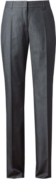 Akris Classic Cotton Trousers - Lyst