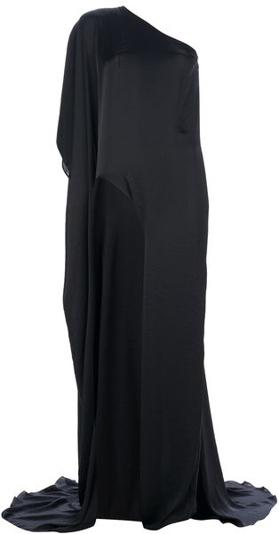 Anthony Vaccarello Lannister Single Leg Dress - Lyst