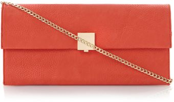 Dune Ellie Fold Over Clutch Bag - Lyst