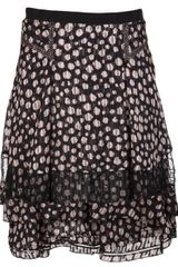 Jason Wu Dotty Print Skirt - Lyst