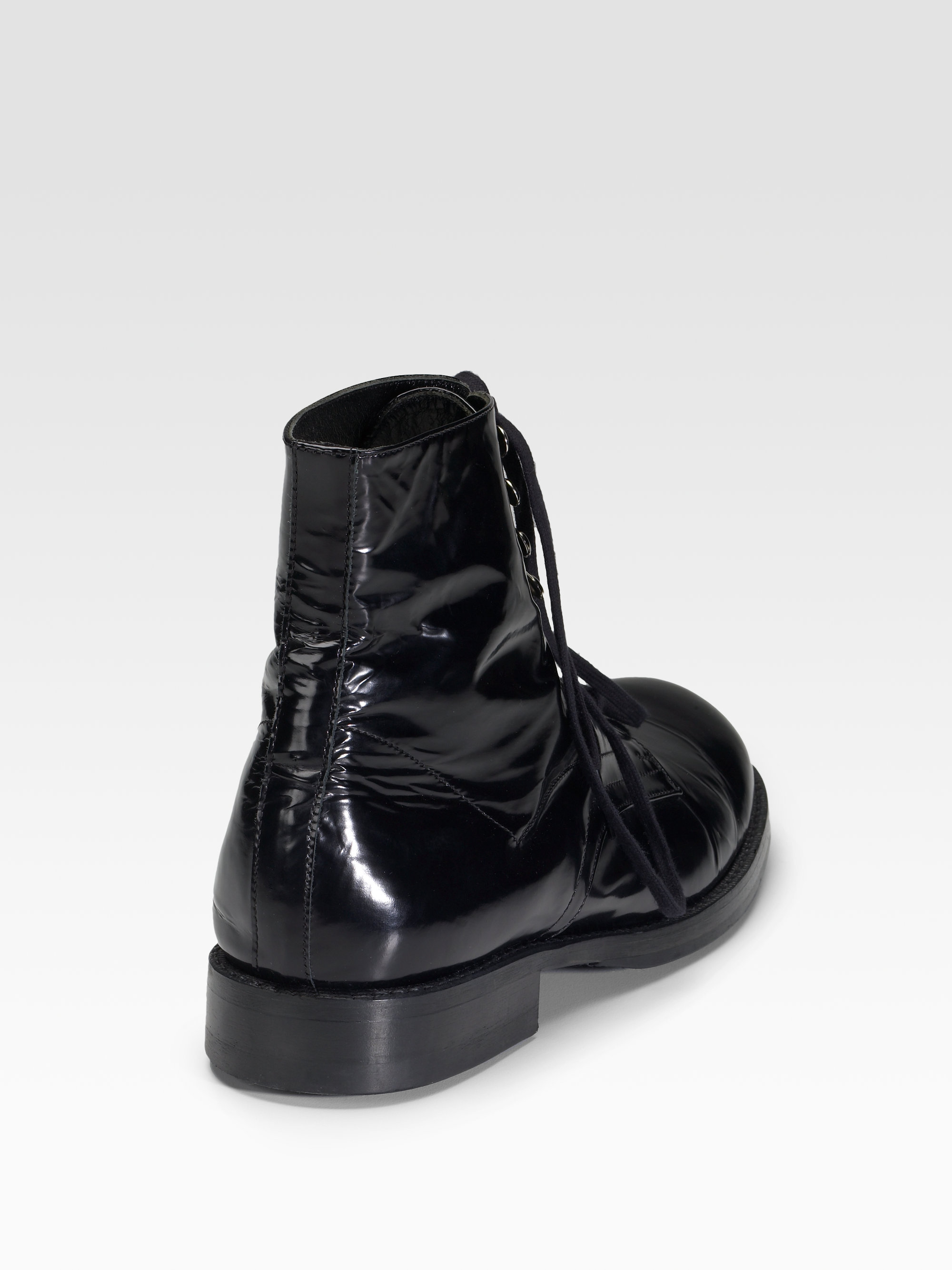 Smooth-leather ankle boots Junya Watanabe q6KmTntGe