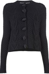Lanvin Vault Four Pocket Cardigan - Lyst