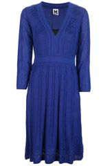 M Missoni Fine Knit Classic Dress - Lyst