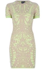 McQ by Alexander McQueen Butterfly Print Dress - Lyst