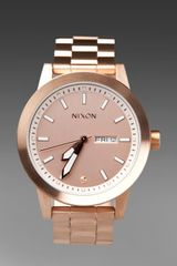 Nixon The Spur in All Rose Gold - Lyst