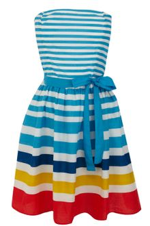 Oasis Stripe Fit and Flare Sundress - Lyst