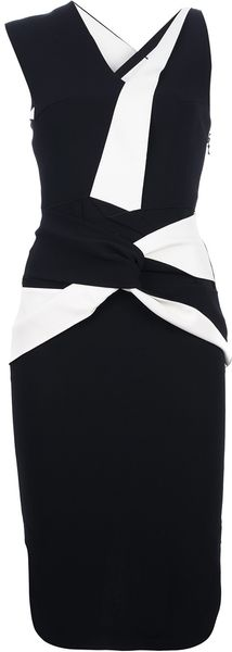 Roland Mouret Ebony Dress - Lyst