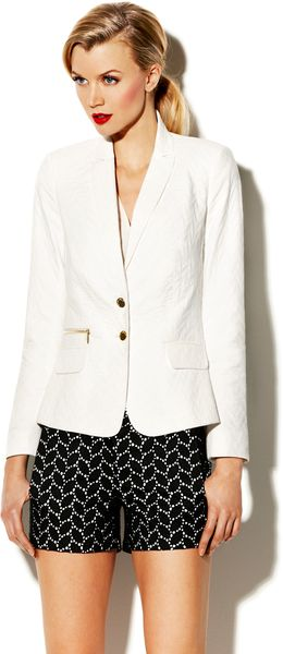 Vince Camuto Two Button Blazer - Lyst