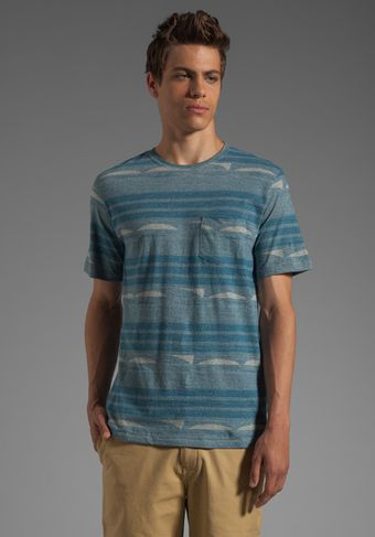 Vstr Horizon Tee in Ensign Blue - Lyst