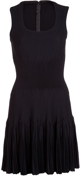 Alaïa Textured Sleeveless Dress - Lyst