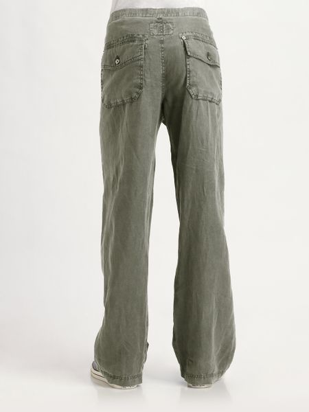 Linen Drawstring Pants For Men Linen Drawstring Pants in