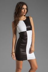 Bailey 44 Dig Out Dress in Blackwhite - Lyst
