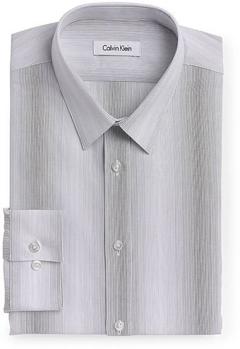 Calvin Klein Thinstriped Dress Shirt - Lyst
