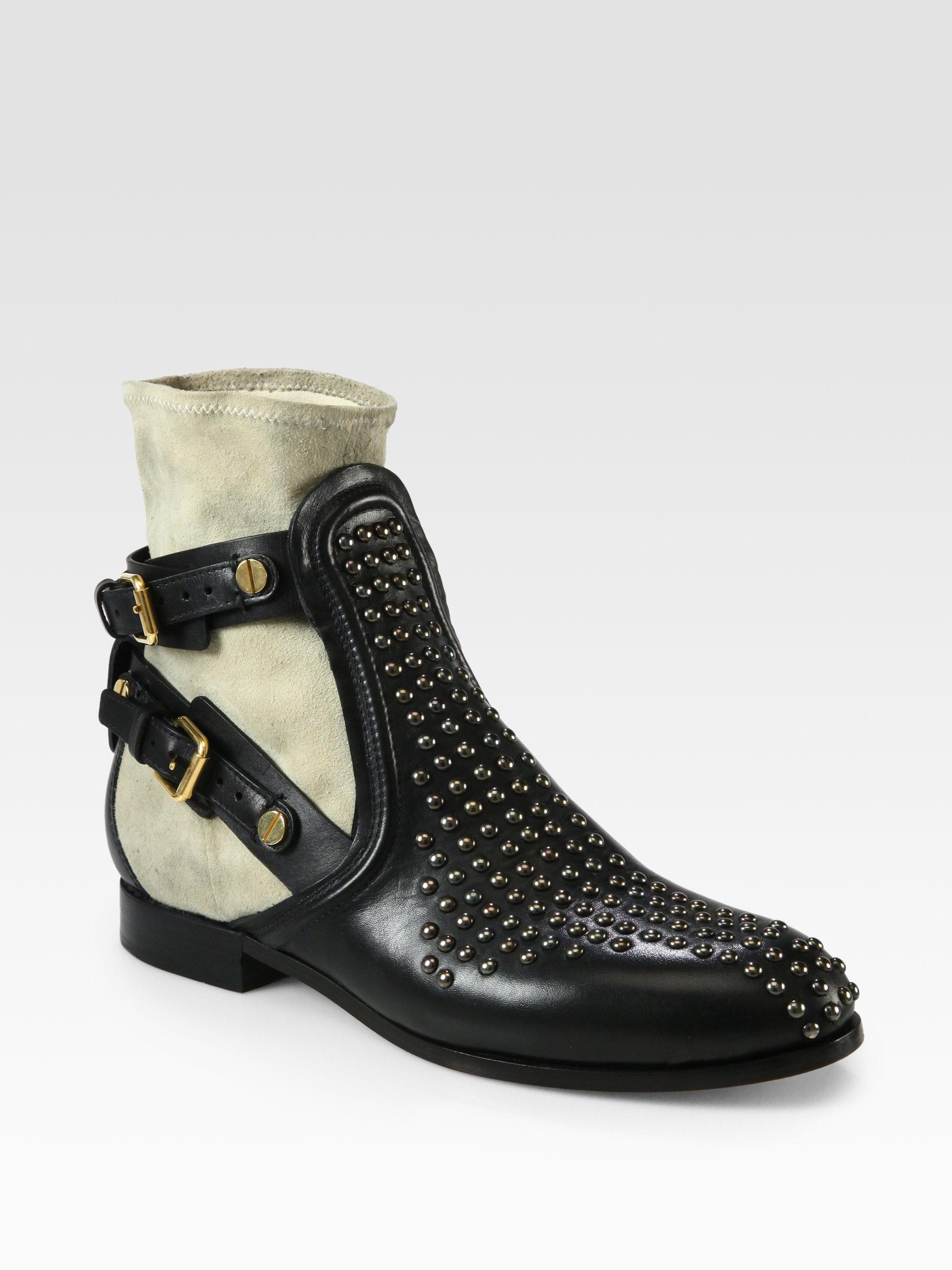 Chloé Ankle Boots CH18A calfskin dwpHaO
