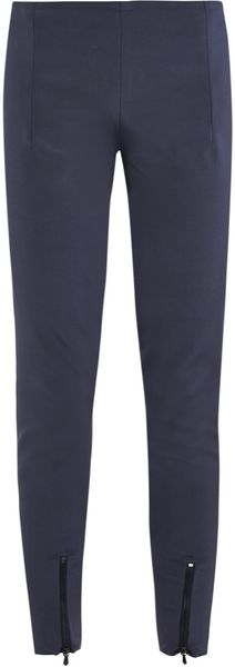 Dion Lee Fitted Silk Tailored Trousers - Lyst