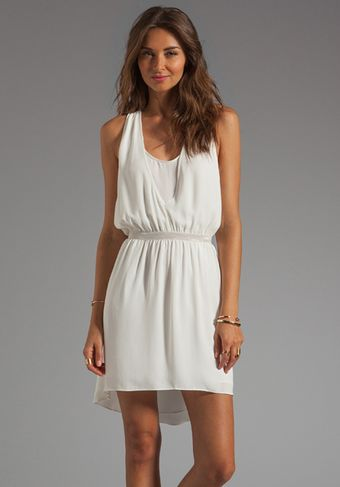 Elizabeth And James Amari Dress in Ivory - Lyst