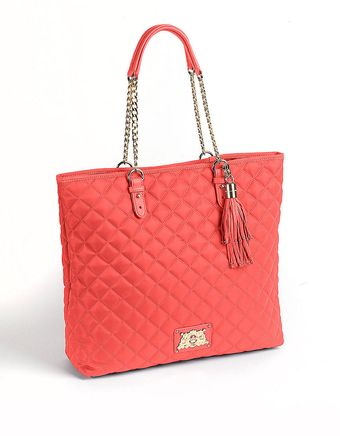 Juicy Couture Quilted Tote Bag - Lyst