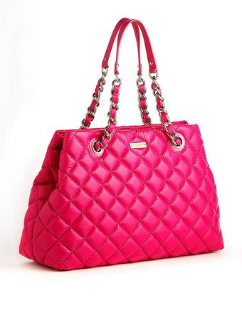 Kate Spade Maryanne Quilted Leather Tote Bag - Lyst