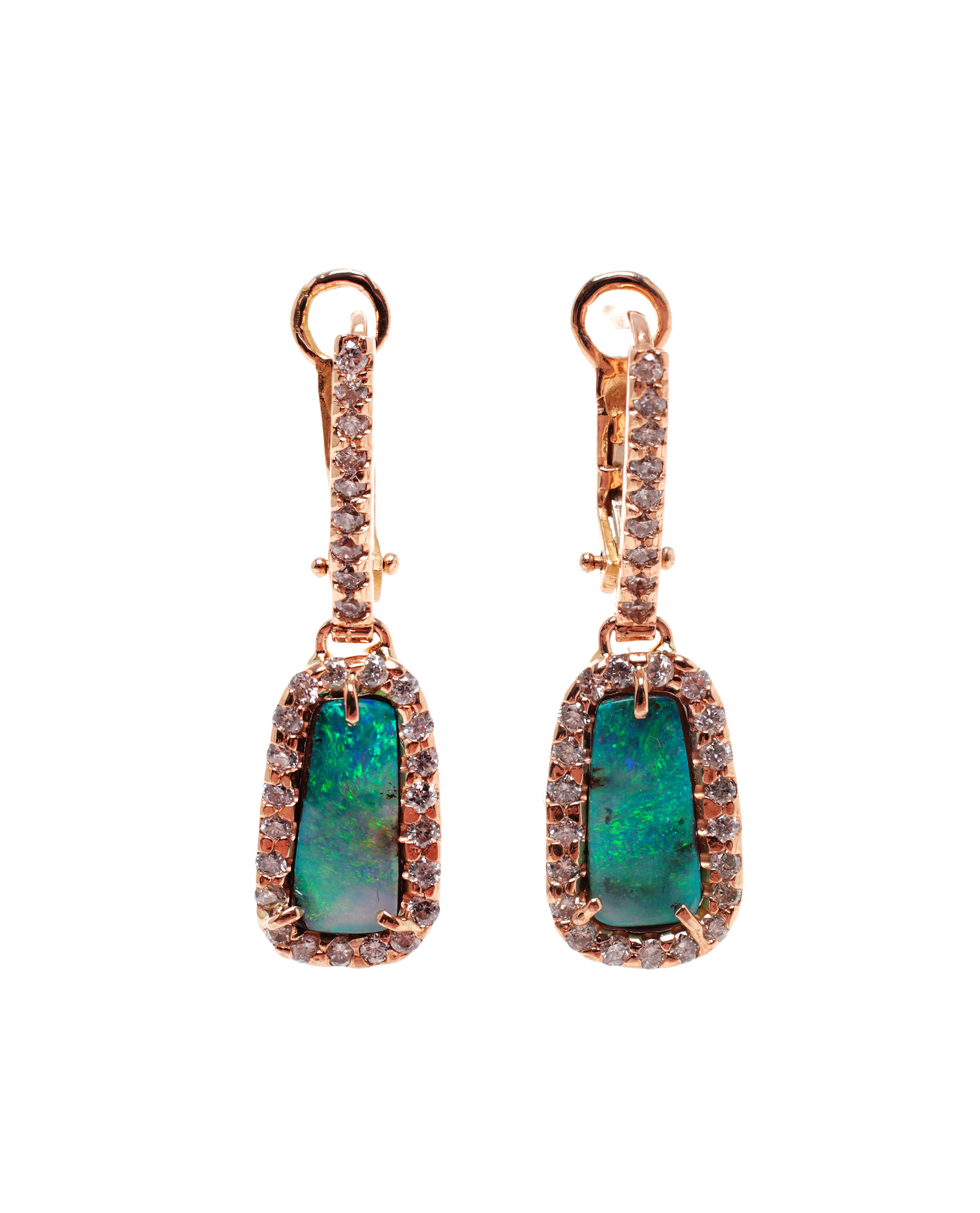 Kimberly mcdonald boulder opal and diamond earrings in for Jewelry stores boulder co
