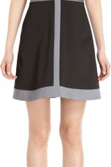 Lisa Perry Cross Panel Dress - Lyst