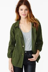 Nasty Gal Truce Army Jacket - Lyst