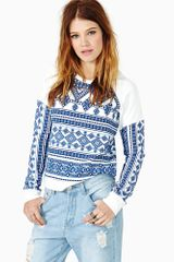 Nasty Gal Thira Sweatshirt - Lyst