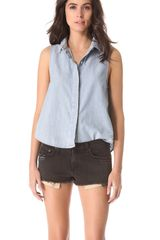Rag & Bone Tent Top - Lyst