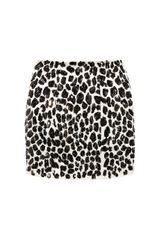 Skaist Taylor Sequined Silk Mini Skirt - Lyst
