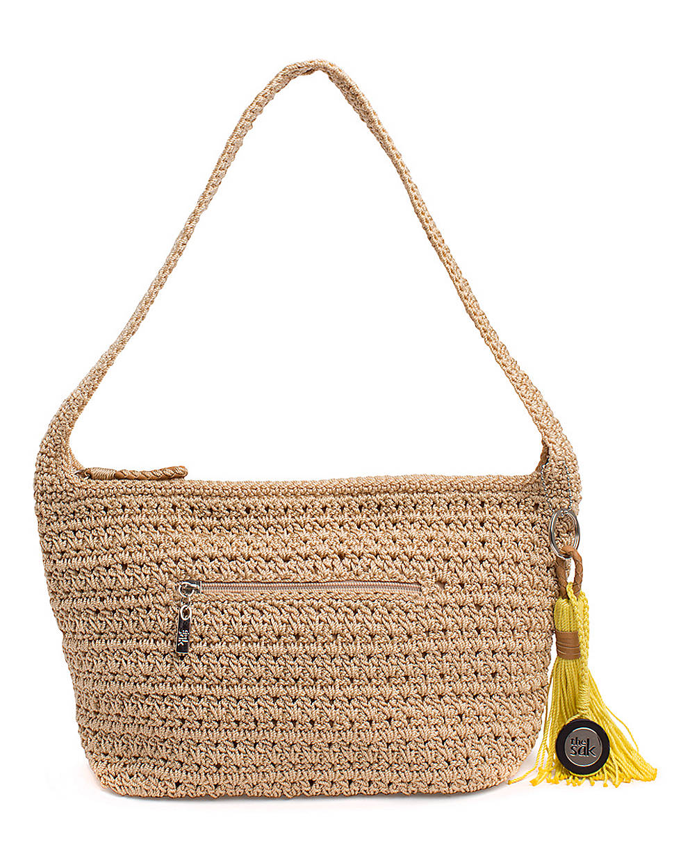 Sak Crochet Bag : The Sak Casual Classics Crochet Hobo Bag in Beige (bamboo) Lyst