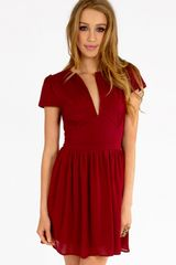 Tobi Simpleton Skater Dress - Lyst