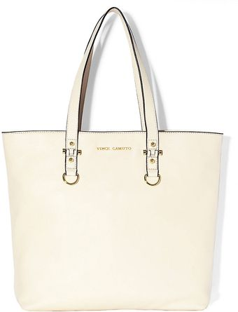 Vince Camuto Leather Tote - Lyst